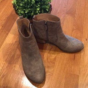 Franco Sarto Taupe Suede Boots - 7